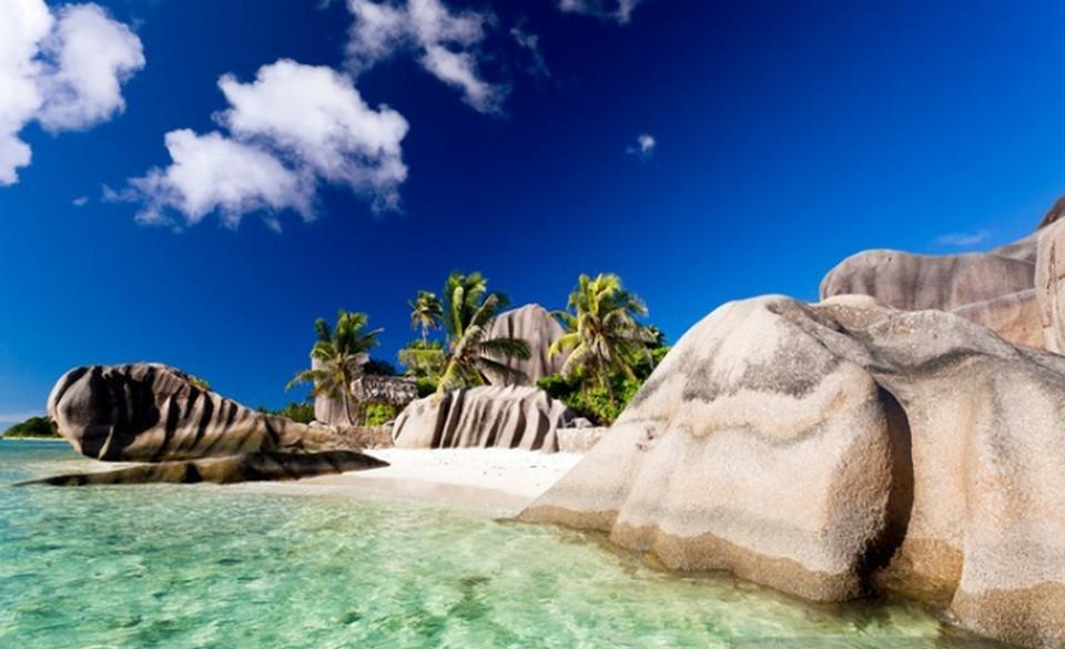 Пляж Anse Source D'Argent, Сейшелы