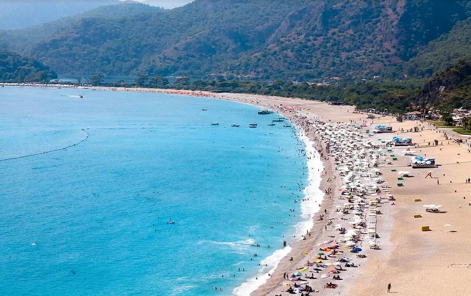 Пляж Олюдениз, Турция