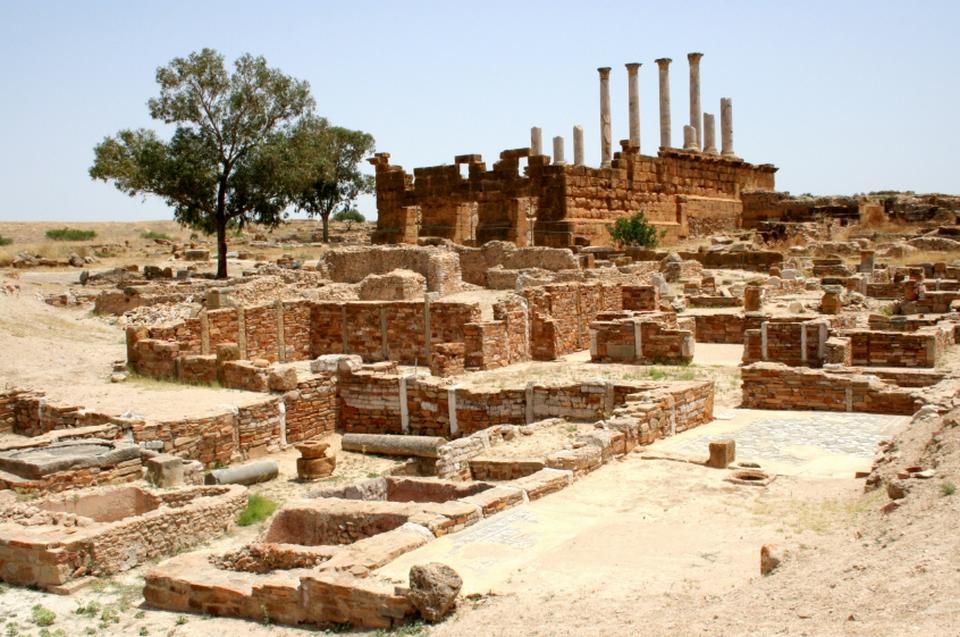 Тунис. Руины Карфагена.
