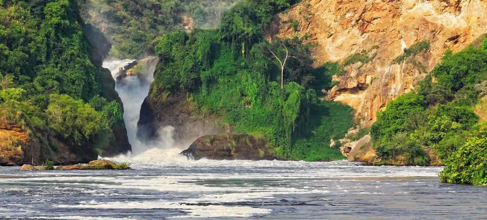 Уганда. Природный пейзаж.