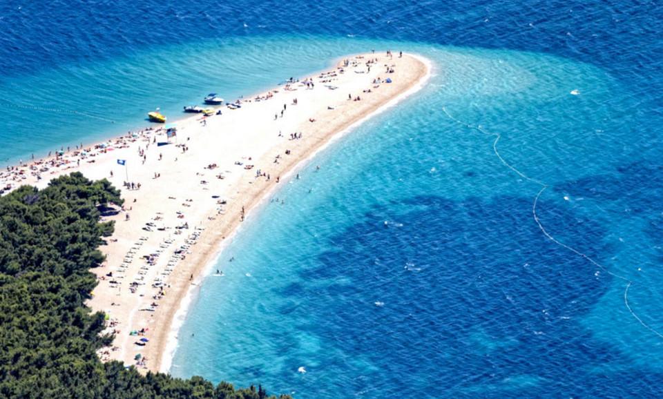 Пляж Злата Рат, Хорватия