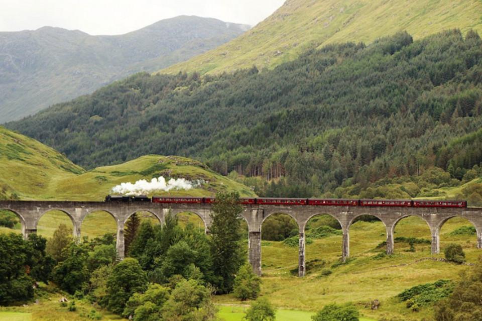 Железная дорога West Highland Line.