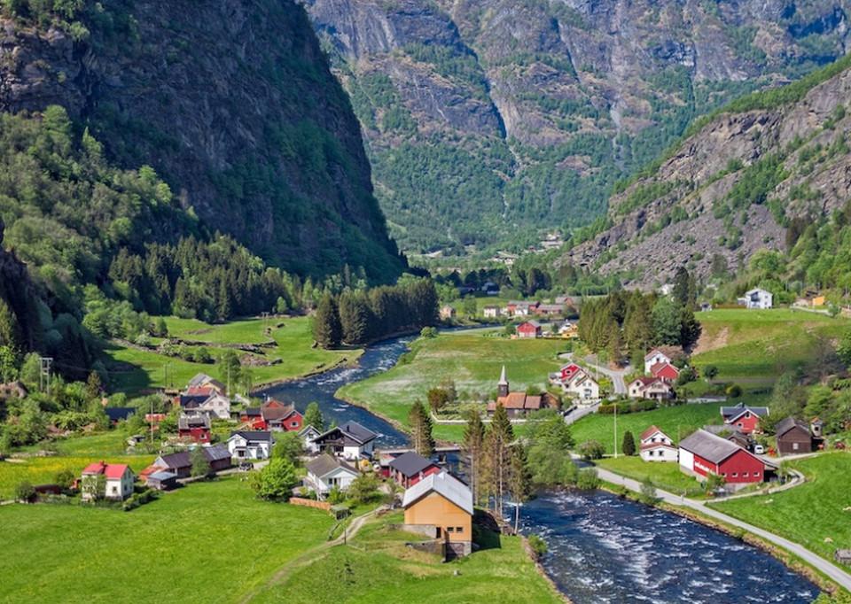 Живописный Флам, Норегия
