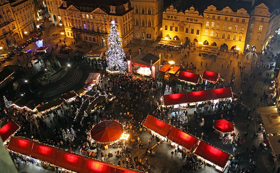 Пражский рождественнский базар