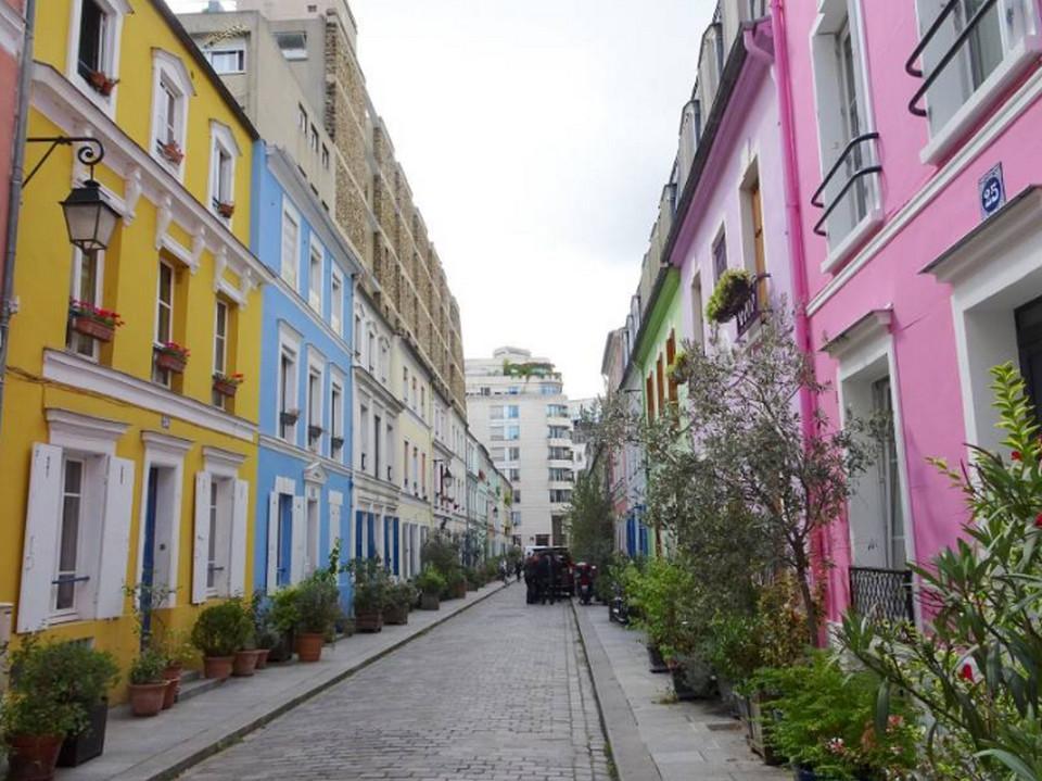 Улица Rue Cremieux