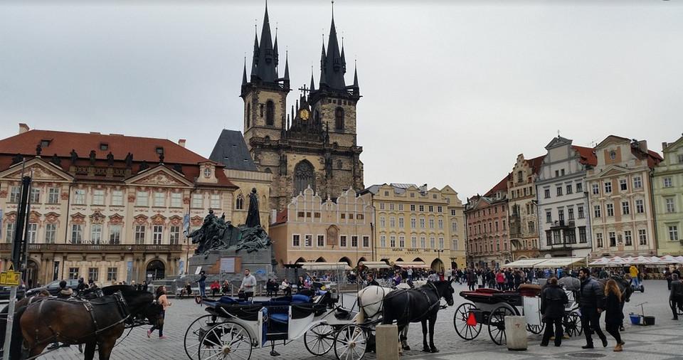 Староместкая площадь Праги